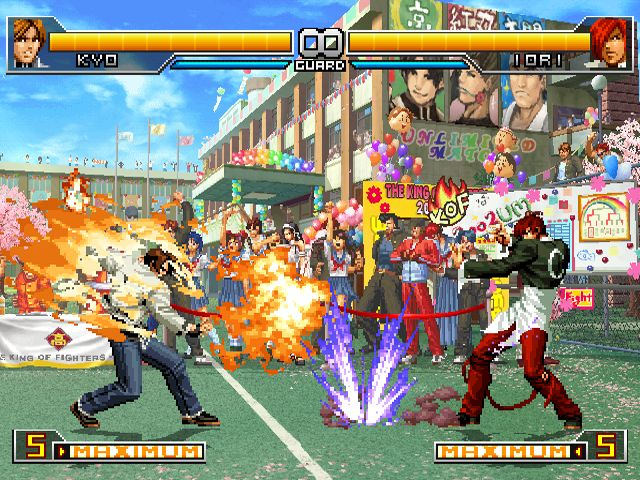 Juego De King Of Fighter 2002 Para Pc