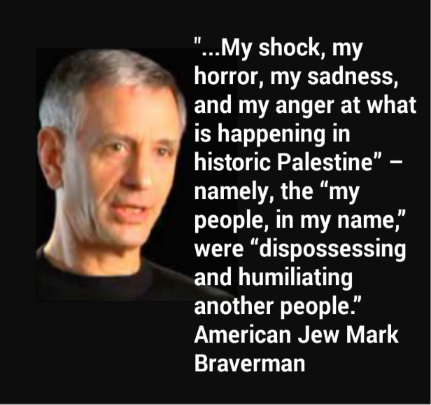 "Mark Braverman...""Shock..."""