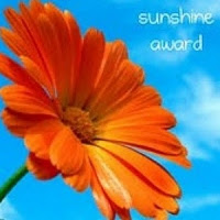 Sunshine blog award.
