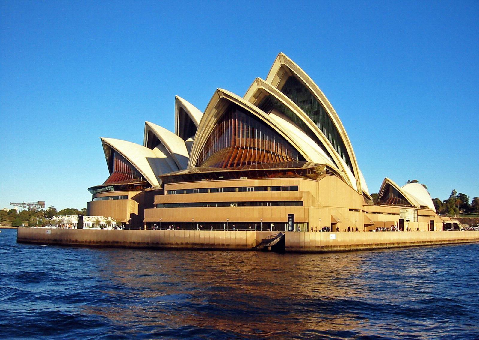 World travel australia opera house views for Sydney opera housse