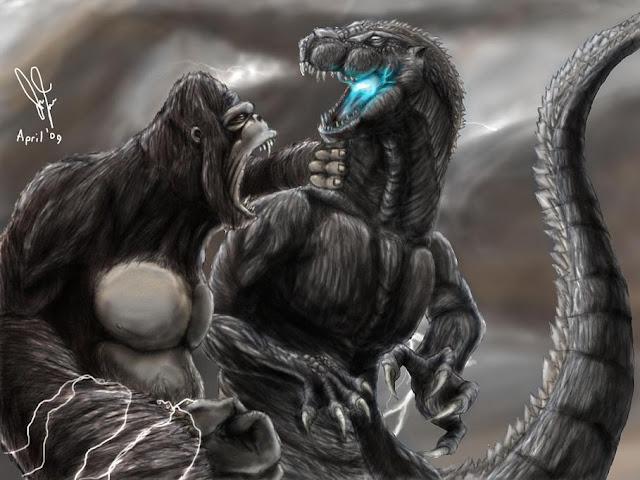 Anguirus Concept Art Kaiju Battle: SATURDAY...