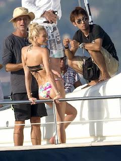 Candice Swanepoel Victoria's Secret Bikini Photo Shoot In Saint Tropez