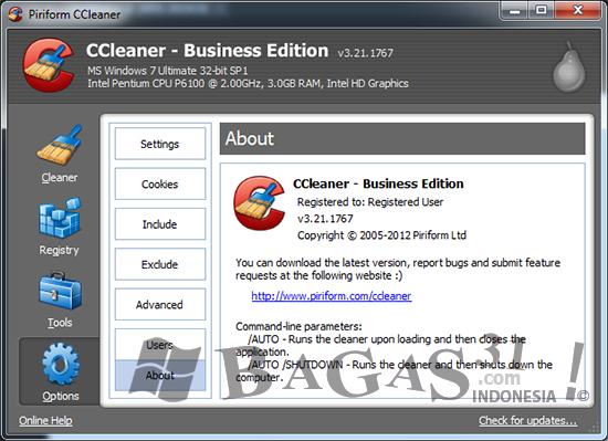CCleaner 3.21 Business Edition Full Crack 2