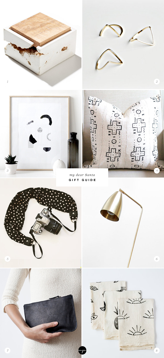 My Dear Santa wishlist from Etsy | My Paradissi