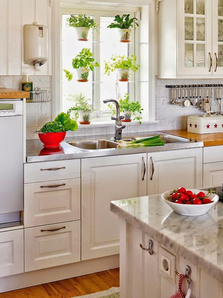 decoracao cozinha tradicional:Tem muita gente que adora uma cozinha branca, transmite uma ideia de