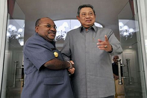 Presiden Susilo Bambang Yudhoyono Beri Arahan Gubernur Enembe Soal Otsus Plus