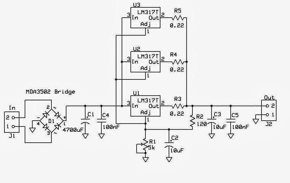 circuito lm317  regulador de tens u00e3o ajust u00e1vel lm t