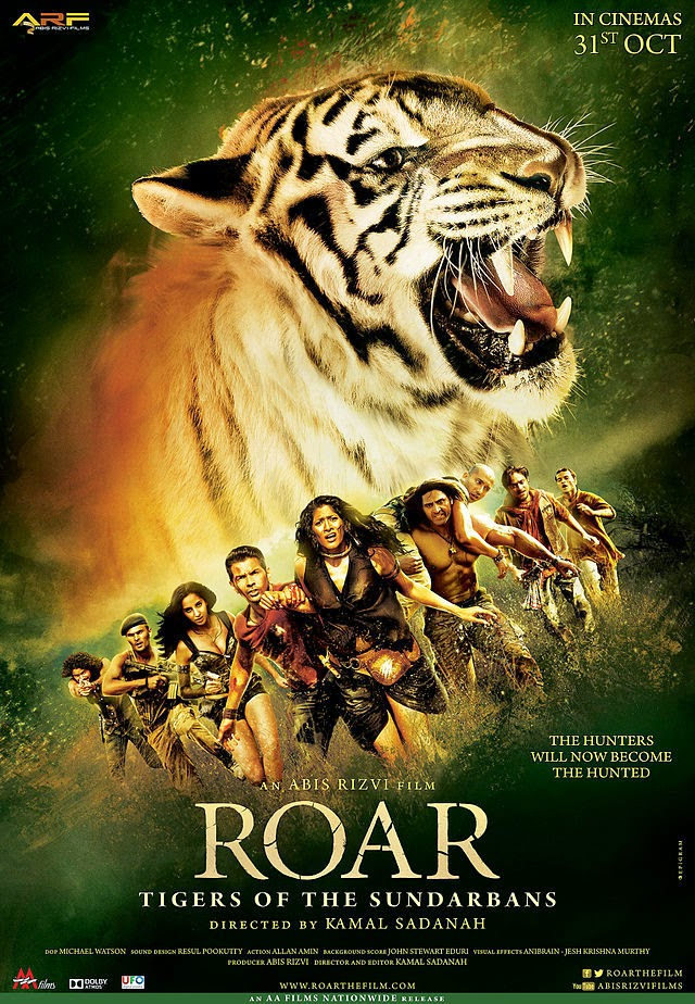Watch Roar – Tigers of Sunderbans (2014) Hindi Non Retail DVDRip Full Movie Watch Online Free Download