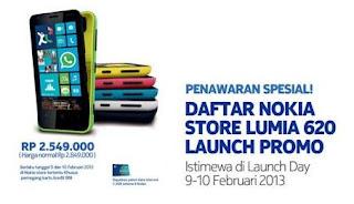 Nokia Lumia 620 Dijual Serentak Di Indonesia Hari Ini