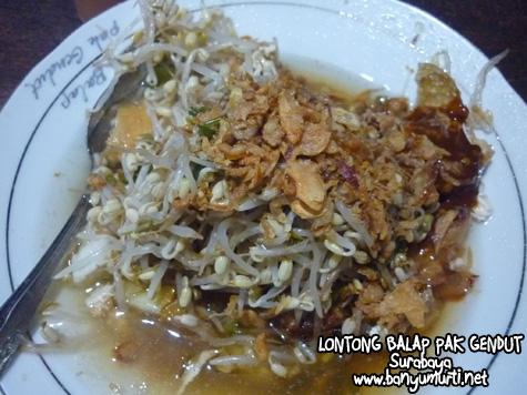Kuliner Surabaya - Lontong Balap Garuda Pak Gendut