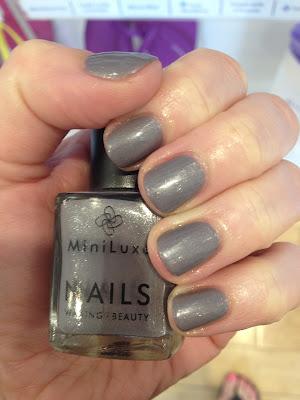 MiniLuxe, MiniLuxe Luxe Slate, nail polish, nail varnish, nail lacquer, manicure, mani monday, #manimonday, nails, nail salon