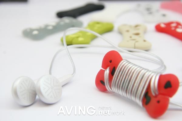 Headphone in ear bluetooth - pink cord cat ear headphones