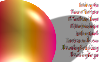 Absence Of Fear - Jewel Kilcher Song Lyric Quote in Text Image