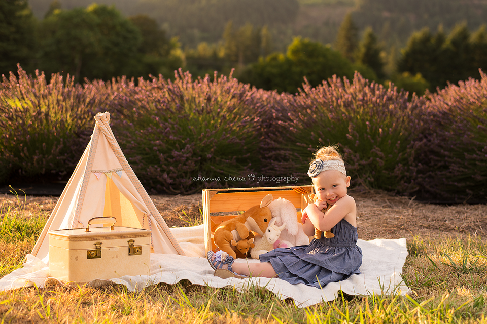 eugene springfield oregon child photography lavender