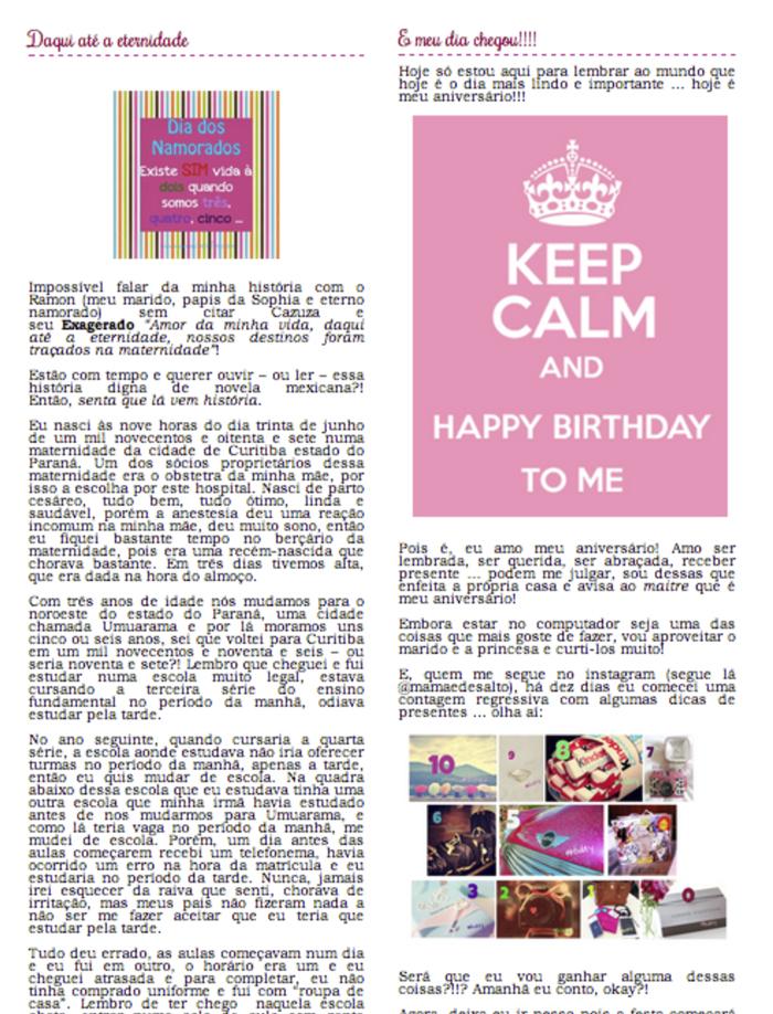 blogagem coletiva nossos momentos recanto das mamães blogueiras blog mamãe de salto ==> todos os direitos reservados