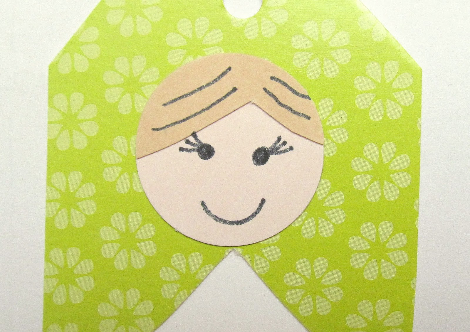 make your own russian doll gift tag