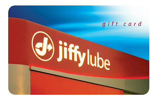 Jiffy Lube gift card
