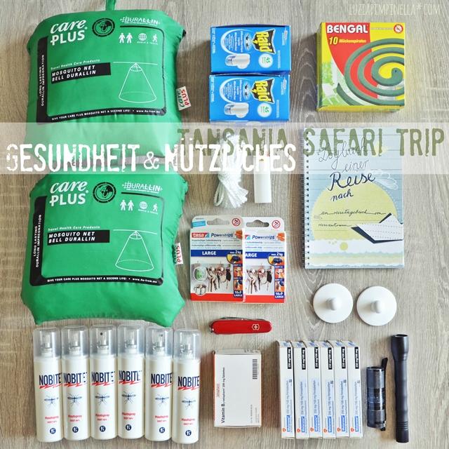 luzia pimpinella | travel tansania | safari-vorbereitungen: impfungen und malaria-prophylaxe