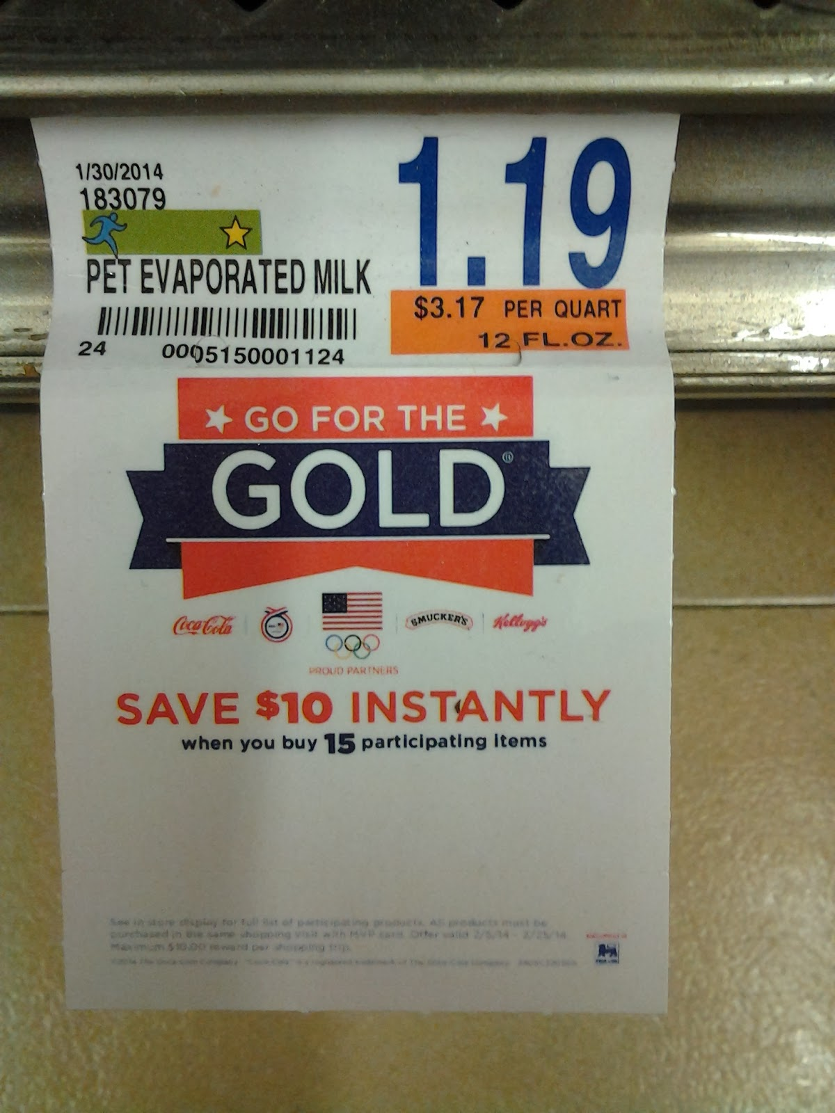 Food Lion Gold Medal Promo