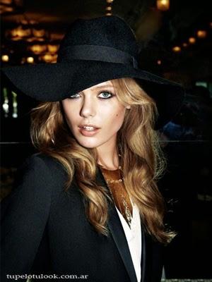 pelo 2014 con ondas sombreros