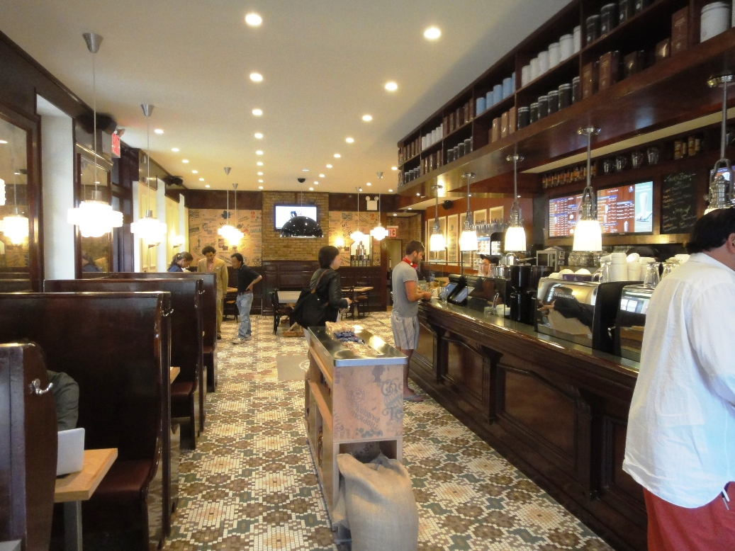 West Coast Coffee Bean Tea Leaf Opens On 83rd Third Pes Americano Test
