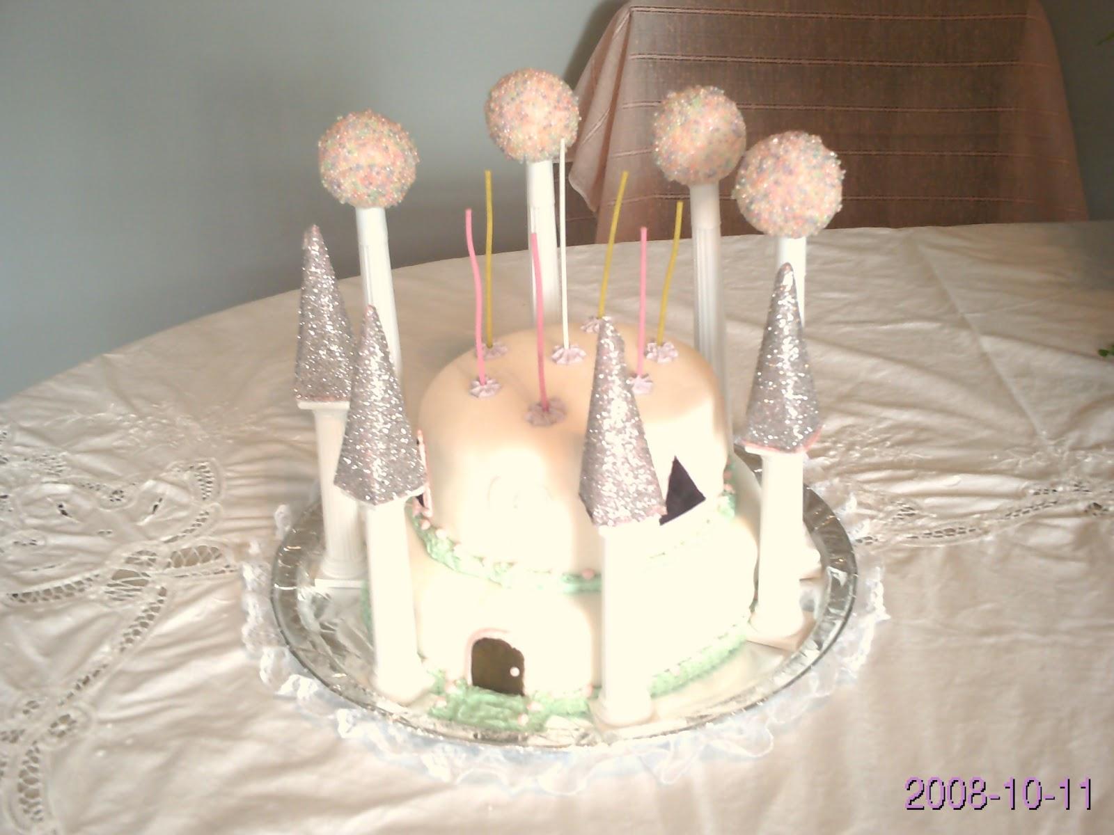 Cake Decorating Foam Balls : Family Kreationz: Ladybug s 7th Birthday Cake