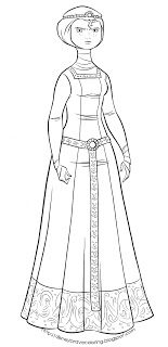 coloring pages from the movie up - disney movie princesses merida coloring pages
