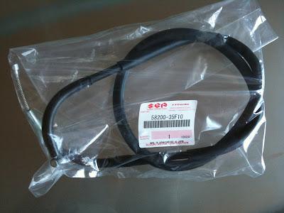 純正部品 クラッチケーブル 58200-35F10 GSX-R1000