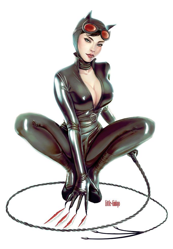 Sexy artwork de Catwoman