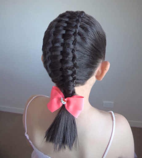 Peinado facil con cinta para niña!! YouTube - Peinados Con Cintas Para Niña