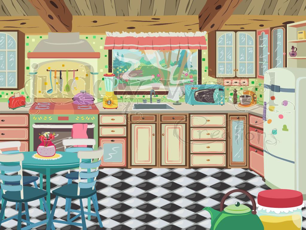 Cocina dibujo free imagenes de una cocina para colorear for La cocina de dibujos pdf