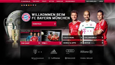 El Bayern de Munich gana la Champions League de los sitios web