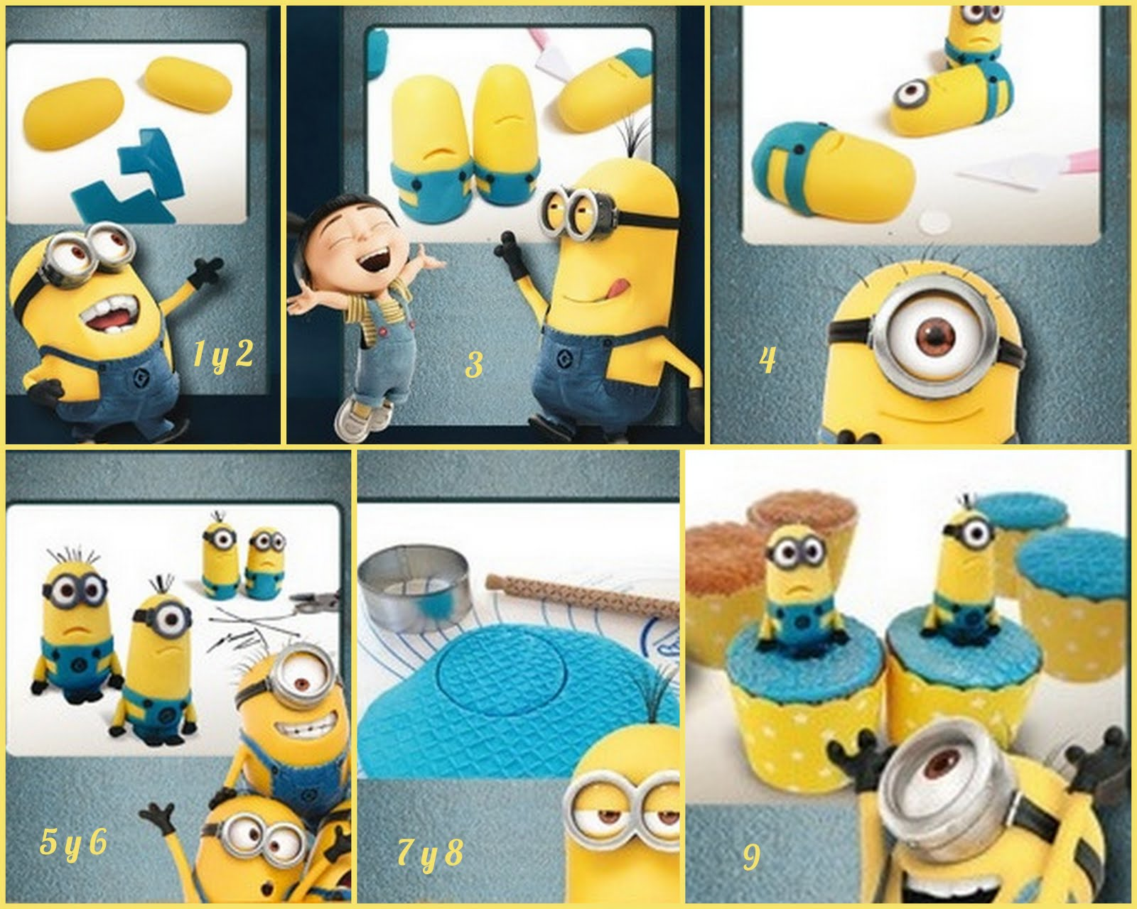 Inspired in Minions: Free Printable Labels. | Oh My Fiesta