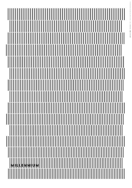 Takahiro Kurashima, diseño grafico,arte,publicidad,art,graphic design,black,white,blanco,negro,Millelium