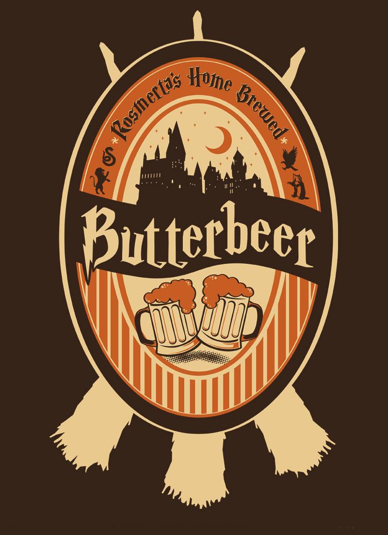 Harry Potter Butterbeer Logo Children's Atheneum: H...