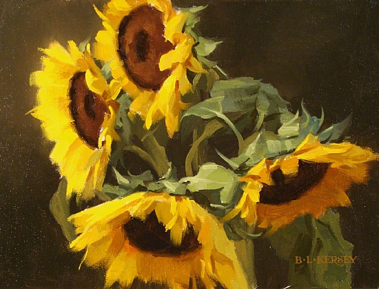 Laurie Kersey | Canadian flowers painter