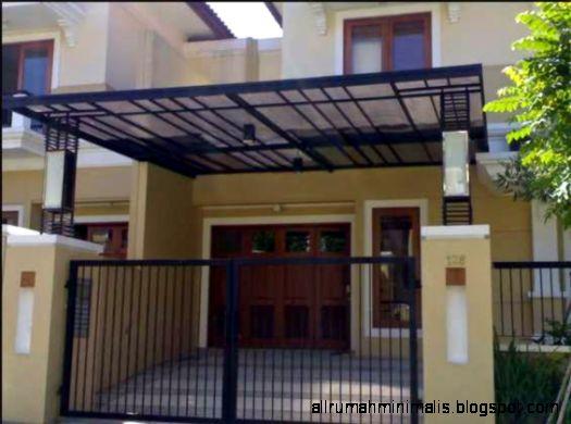 Gambar Desain Model Canopy Rumah Minimalis   Rumah