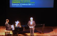 Genova, 13.02.11: my eighth Carreras'concert