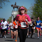 2013 Monument Ave. 10K I actually ran!