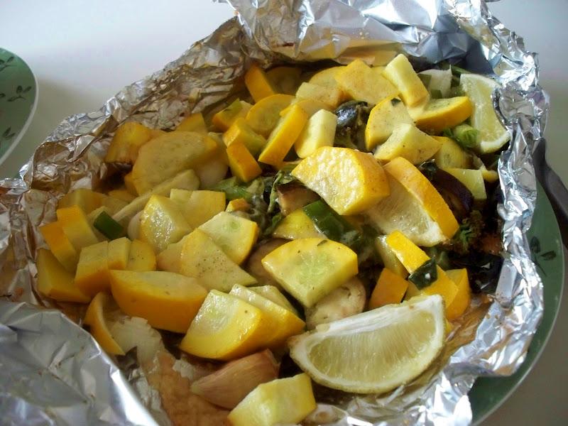 summer squash lemon lime basil chard eggplant broccoli