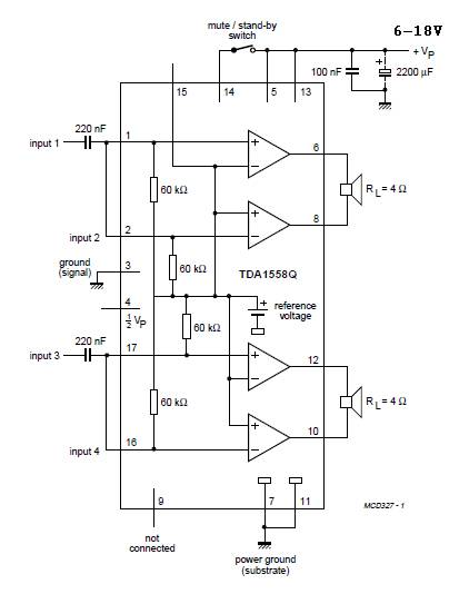 world technical the amplifier circuit used in car audio circuit rh worldtechnical blogspot com