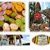 สุพรรณบุรี-ประเพณีตักบาตรเทโวขนมครก8สีวัดเถรพลาย