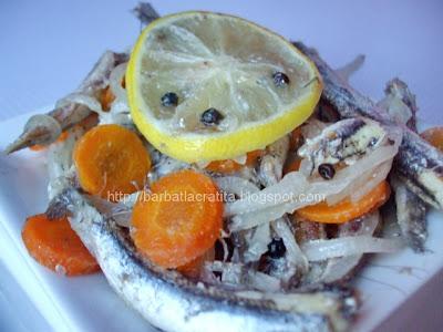 Peste marinat la cuptor reteta