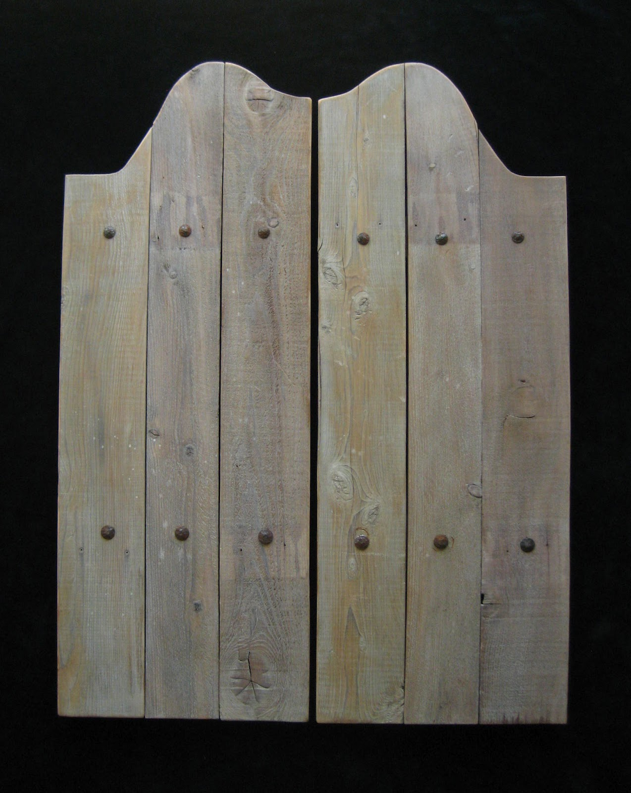 Handcrafted custom swinging saloon doors - Old West Swinging Saloon Doors