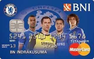 kartu kredit BNI mastercard chelsea fc
