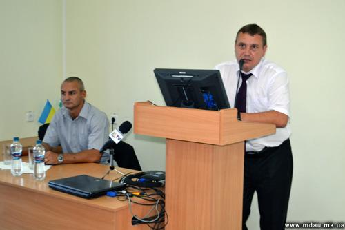 Зустріч з представниками правоохоронних органів.