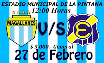 PARTIMOS CON EVERTON EL 27.FEB.2011  $ 3.000.- LA GENERAL