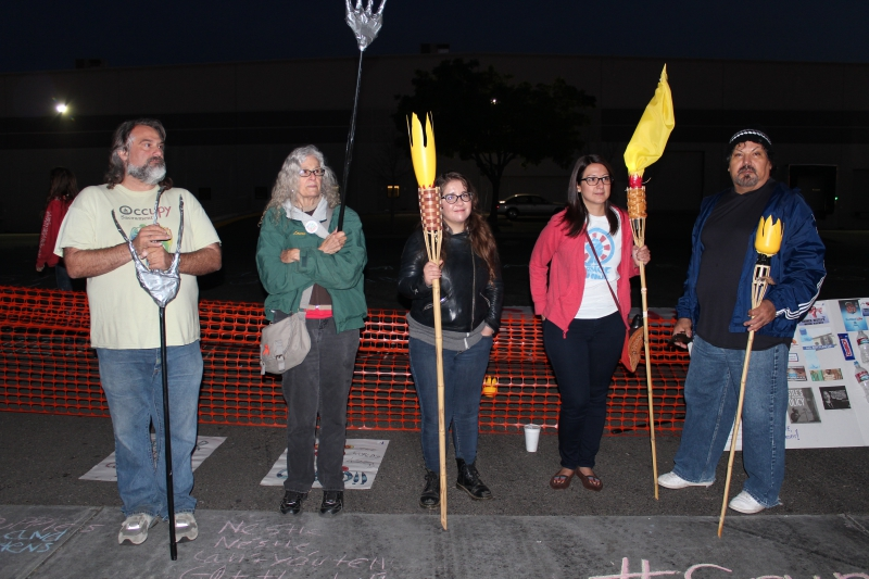 Activists 'Shut Down' Nestlé Water Bottling Plant in Sacramento