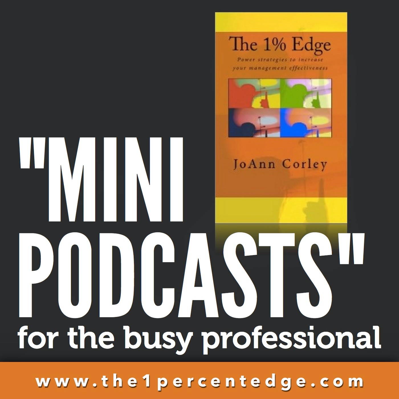 No Time To Read? Listen on the Go! Check out the audio version of The 1% Edge!