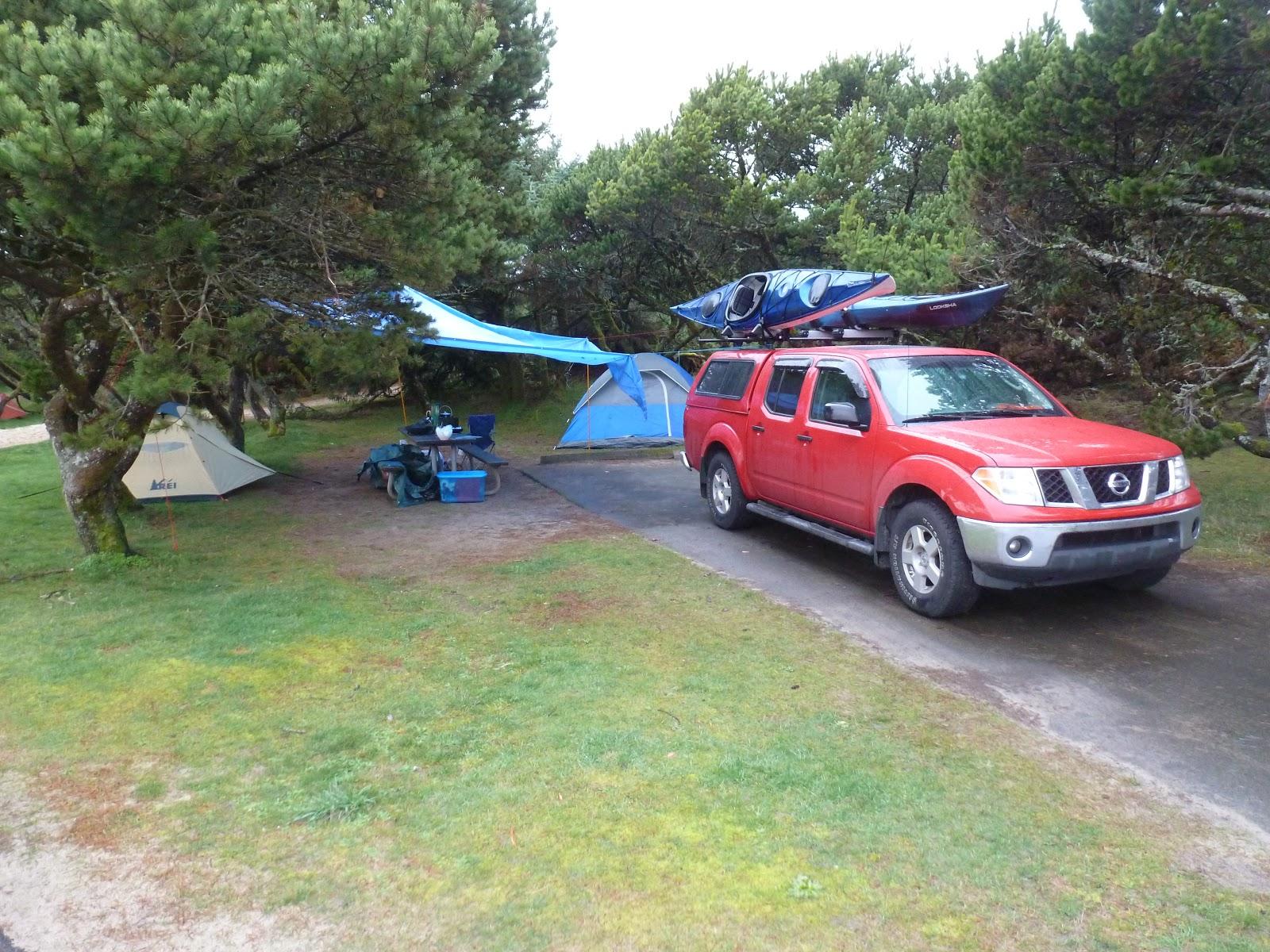 Our Humble C&site & Hiking Oregon: Nehalem Bay State Park